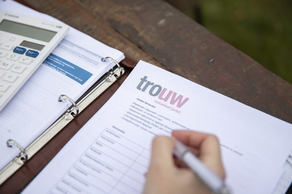 Testamenten - Trouw advies - Notarieel jurist in Noord Brabant